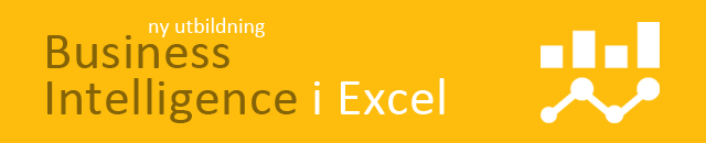 Excel kurs Business Intelligence