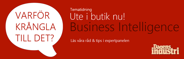 Dagens Industri - Business Intelligence - Excelspecialisten experter