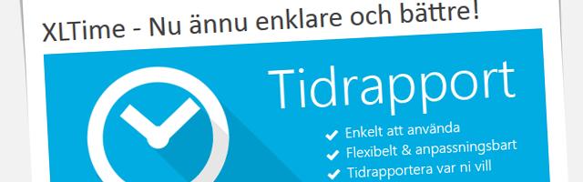 Nyhetsbrev - Excelspecialisten april 2014, XLTime - Nu ännu enklare och bättre!